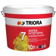 Краска интерьерная шелковисто-матовая TRIORA 7