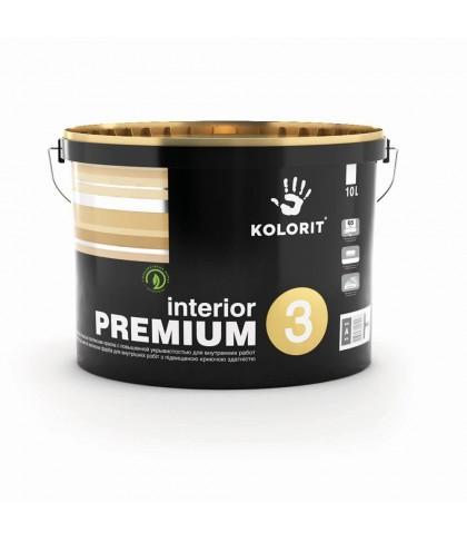 Краска интерьерная Interior  Premium 3