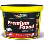 Краска фасадная силиконовая Kompozit PREMIUM FASAD (Композит Премиум Фасад)