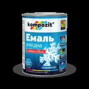 Эмаль алкидная снежно-белая Kompozit®